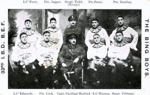 33rd Infantry Base Depot, The Bing Boys