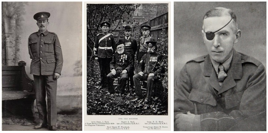Remembering Alfred Hobden, William Woodcock and 'Patch' Watson