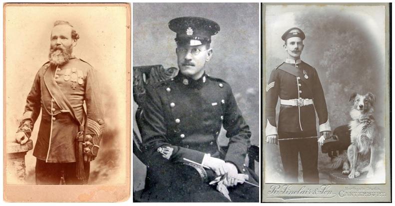 Remembering William Napier, William Taylor... the Brodrick cap