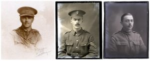Wilfred Owen, Percy Buss, William Castle