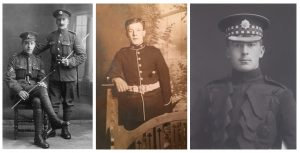 George Coppard, William Bevan, Guy Paget