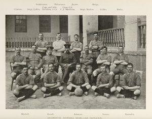King's Royal Rifle Corps football team 1905