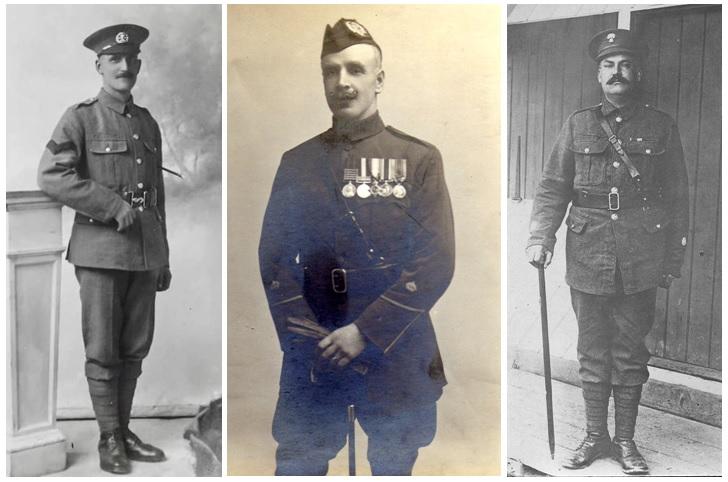 George Payne, Allan Lynch, Frank Atkins
