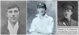 Cyril Lowe, Percy Jeeves, James Smithwick