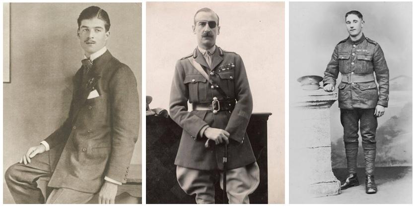 Edward Wyndham Tennant, Victor White, Adrian Carton de Wiart