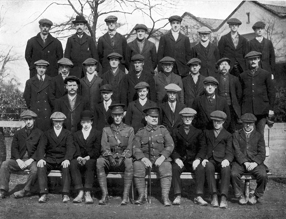 XX Platoon, E Company, 18th Manchester Regiment