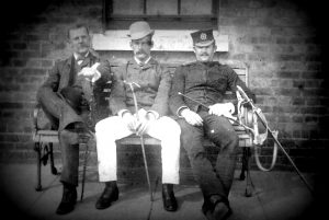 Unnamed British Army soldiers