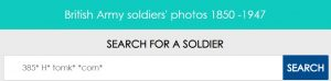 wildcard searching on British Army Ancestors