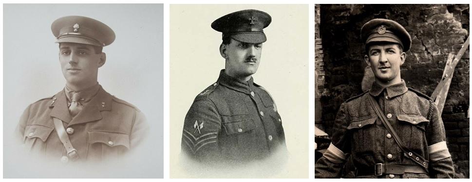 William Polge, William Pollitt, Walter Scrivener